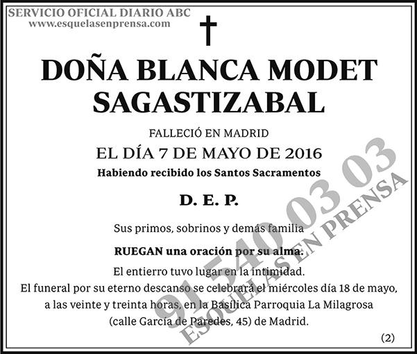 Blanca Modet Sagastizabal